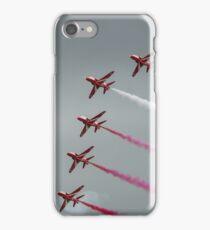 Red Arrows - Vixen Flypast iPhone Case/Skin