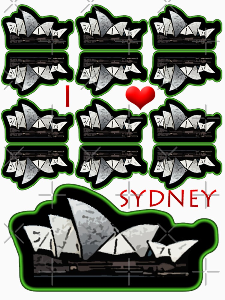 I love Sydney  by CradoxCreative