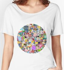 Pop Culture Montage! Women's Relaxed Fit T-Shirt