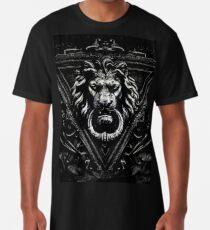 Gothic Lion Schwarz Longshirt
