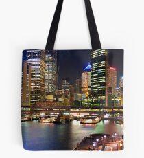Colour of Sydney Harbour Tote Bag
