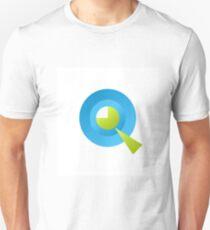 Letter Q of english alphabet Unisex T-Shirt