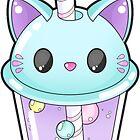Kitty Bubble Tee von erinaugusta