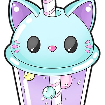 Kitty Bubble Tea by erinaugusta