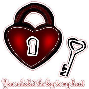 Unlocked Love by CradoxCreative