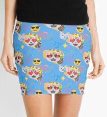 taco cat emoji Mini Skirt