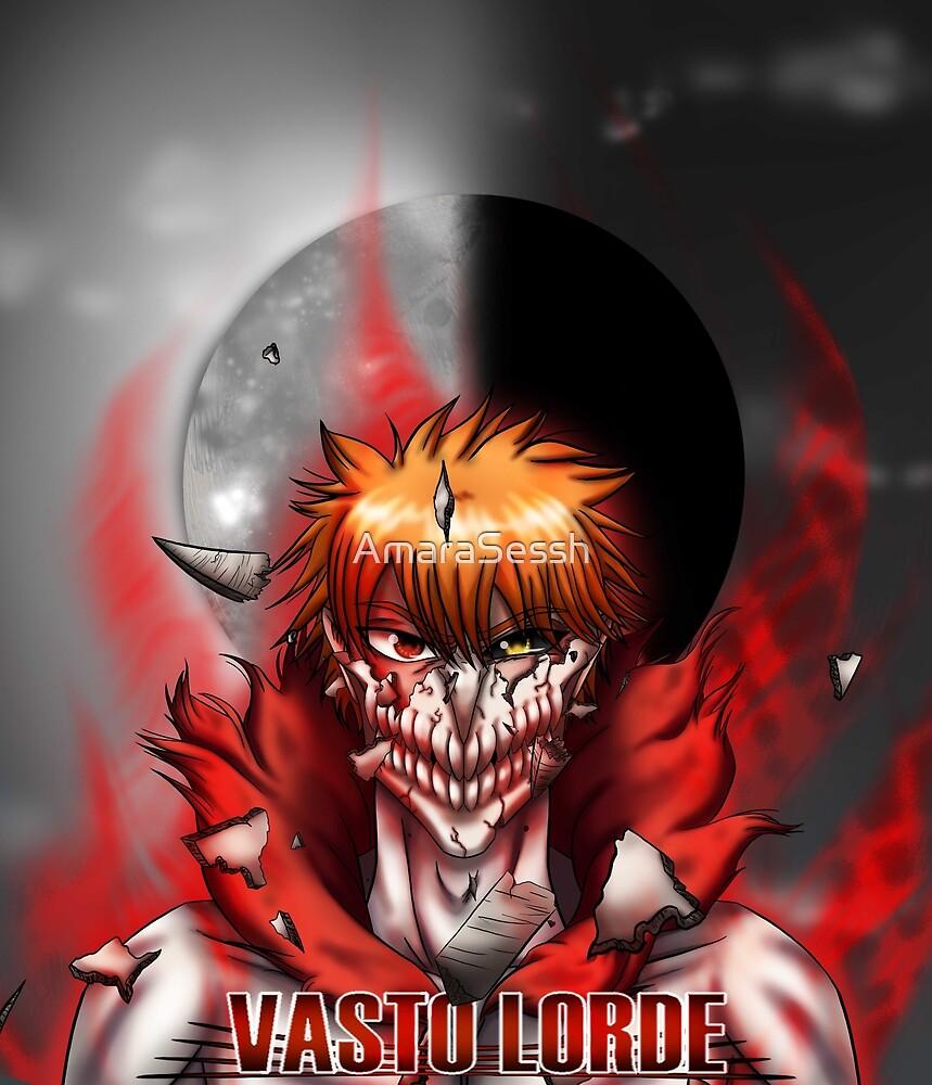 ichigo vasto lorde by amarasessh redbubble