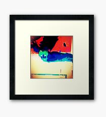 Alternate Lazy Voldemort Framed Print