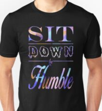 Kendrick Lamar- Sit Down, Be Humble- Purplish Unisex T-Shirt