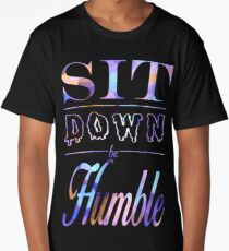 Kendrick Lamar- Sit Down, Be Humble- Purplish Long T-Shirt