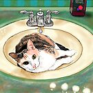 Catrina in the Sink by melasdesign