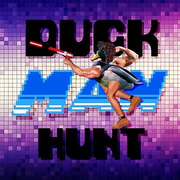 Duckman Hunt 8 Bit Retro by Doge21