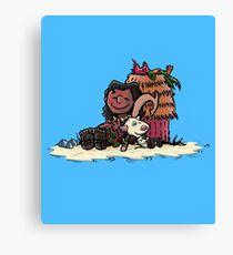 Maui Brown & Friends Canvas Print