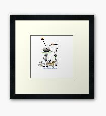 When Pets Choose You Framed Print