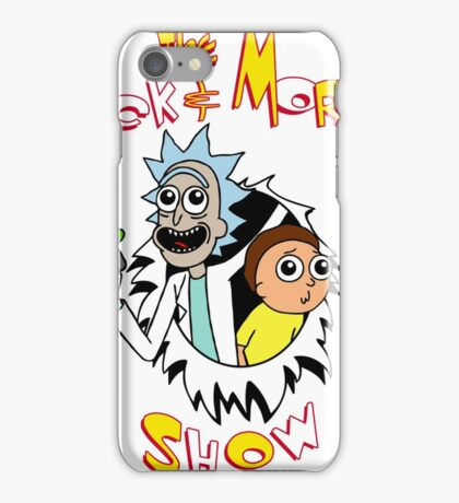 The Rick and Morty show iPhone Case/Skin