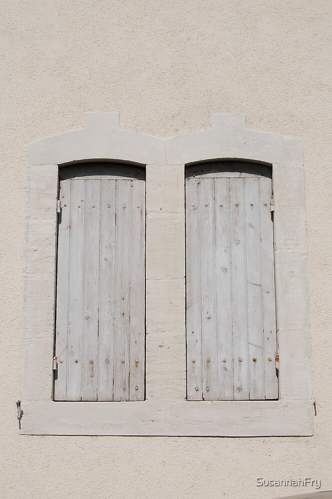 A Pair of French Shutters by SusannahFry