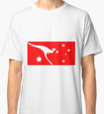 Ensign of Qantas Kangaroo Classic T-Shirt