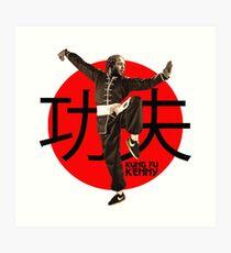 Kung Fu Kenny (Kendrick Lamar) Art Print