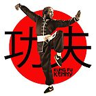 Kung Fu Kenny (Kendrick Lamar) by huskycharmander