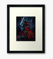 The Tattered Man Framed Print