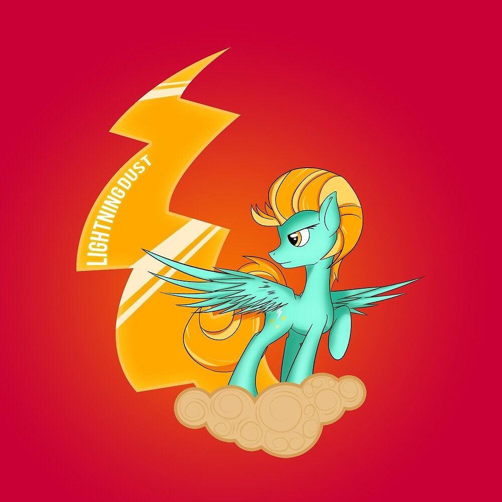 Flamevulture Premade Design - Lightning Dust by broniesunite