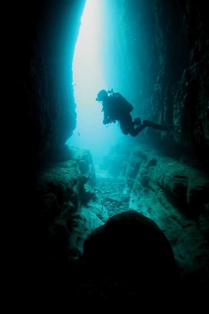 Caving by Hugh Pederson
