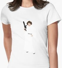 Princess Leia Women's Fitted T-Shirt