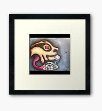 Turtle Thief Framed Print
