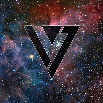 Seventeen Logo - Galaxy by sylnae