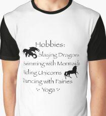 Hobbies  Graphic T-Shirt