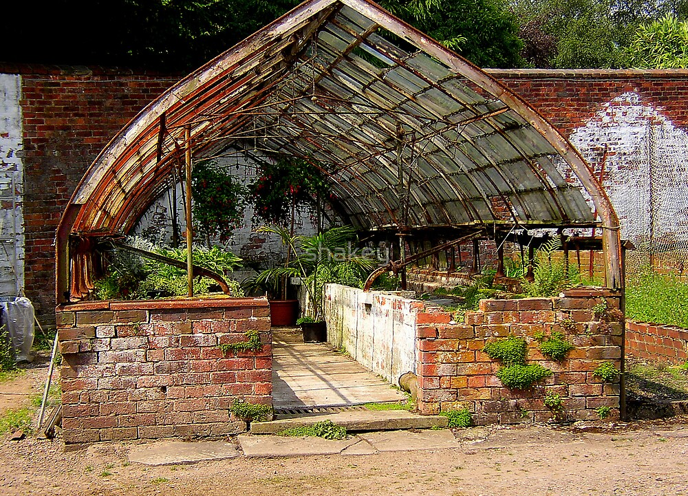 Old greenhouse by shakey