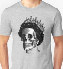 God save the skull faced Queen Unisex T-Shirt
