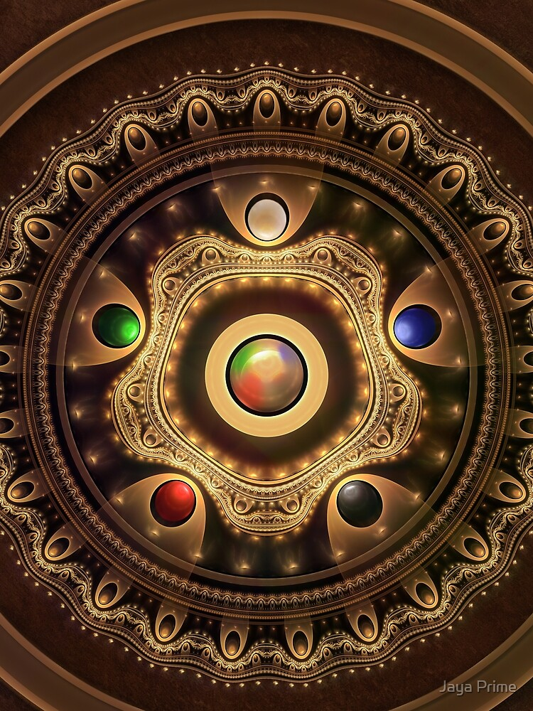 Gathering the Five Fractal Colors of Magic by jayaprime