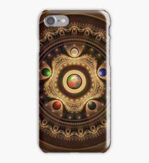 Gathering the Five Fractal Colors of Magic iPhone Case/Skin