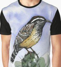 Cactus Wren Graphic T-Shirt