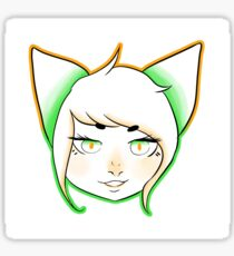 Davepeta HeadShot Sticker