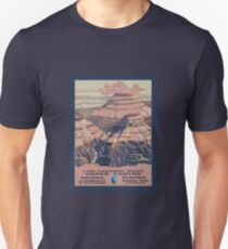 GRAND CANYON National Park Service Poster WPA Unisex T-Shirt