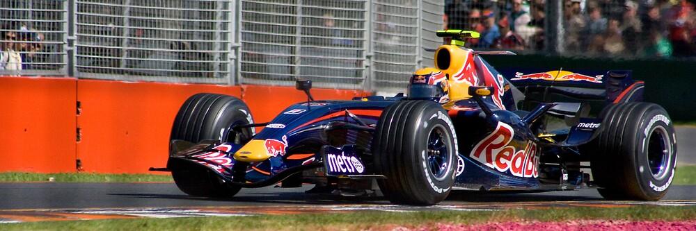 Webber at Turn 7 by Chris Putnam