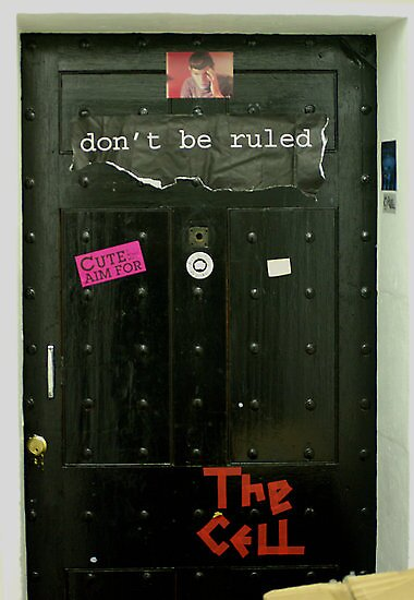 The Cell Door (Taken by Ian Porter - http://www.redbubble.com/people/procrest) by PConspiracy