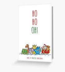 Oh Oh Oh Santa! Greeting Card