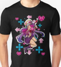 Miss Fortune Arcade Shiranui with background Unisex T-Shirt