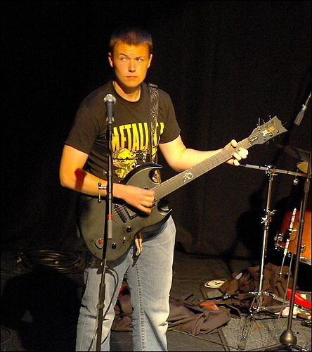 (Church Of Rock) Me (Taken by Ian Porter - http://www.redbubble.com/people/procrest) by PConspiracy