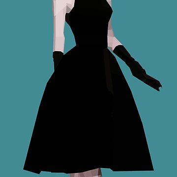Audrey Hepburn by perfectpolygons