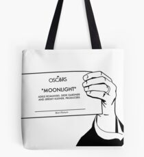 Moonlight Wins Best Picture Tote Bag