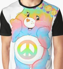 care bear hippie care bears hippie carebears carebear (remember RECYCLE all packaging it comes in) Graphic T-Shirt
