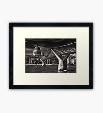 Bridge to St. Paul's Framed Print