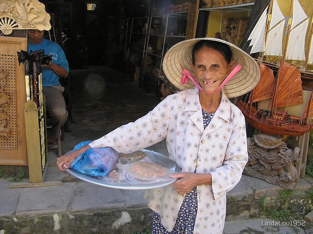 Vietnamese Street Vendor by LindaLou1952