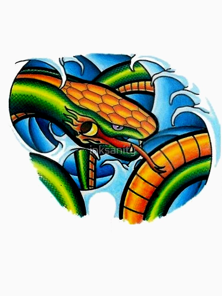 snake by inksanity