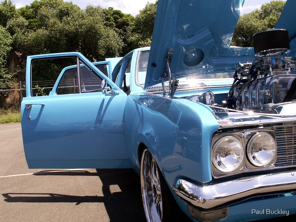 Aussie Blue by Paul Buckley