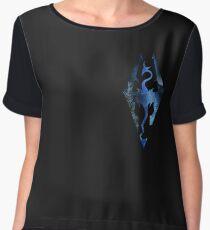 Skyrim Logo - Magic Women's Chiffon Top